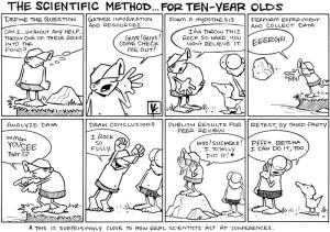 WissenschaftsCartoon